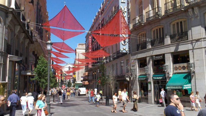 Calle del Arenal en la actualidad