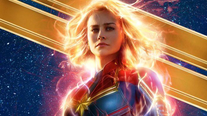Capitana Marvel, cartel promocional