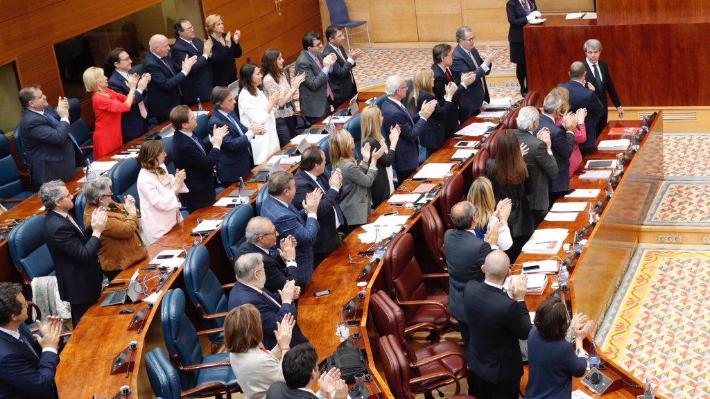 Despedida Ángel Garrido Asamblea